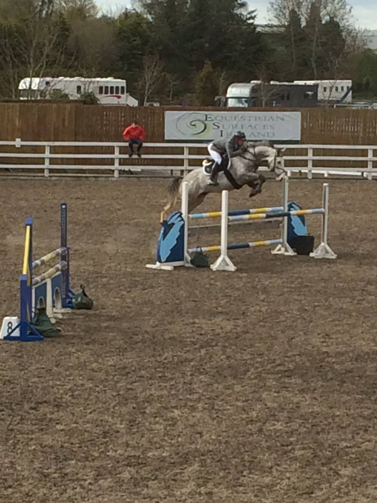 Show Jumping competition training