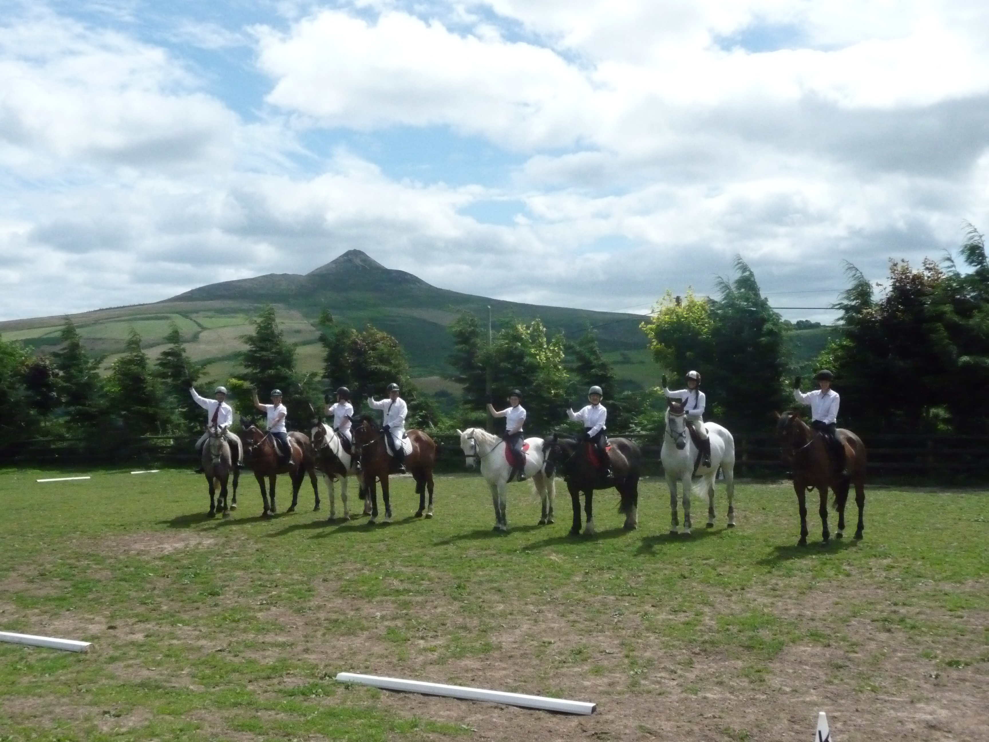 Group Horse Riding Outing